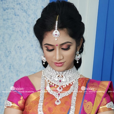 reception makeup in chennai